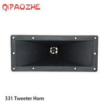 Speaker Tweeter Treble Horn Accessories Plastic 252*105 For Console Mixer Professional Audio DJ Home Theater aiyima 1pc 4inch audio portable speaker 8ohm 80w tweeter loudspeaker diy stage speaker horn treble home theater