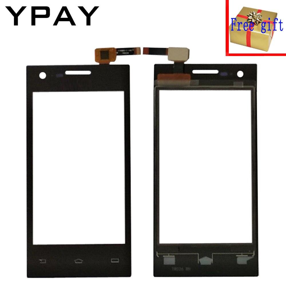 YPAY 4.0 ''נייד טלפון קדמי מגע מסך עבור philips S309 S 309 מגע זכוכית Digitizer פנל חיישן קיבולי + משלוח מתנה