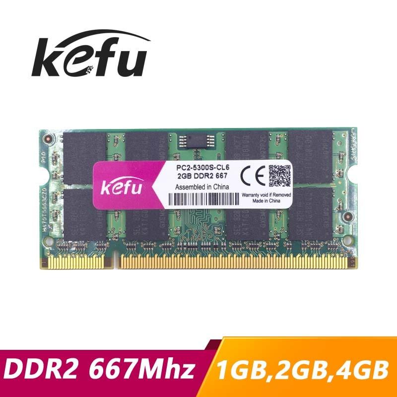 SODIMM Laptop Memory 200 PIN MemoryMasters 4GB 2X 2GB DDR2 667MHz PC2-5300 PC2-5400 DDR2 667