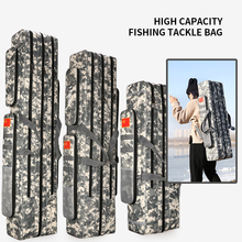 2/3 Layer 80/90/100/110/120/125cm Fishing Bag Oxford Cloth Fishing Rod Reel Bag Fishing Tackle Storage Bag Travel Bags XA86G цена