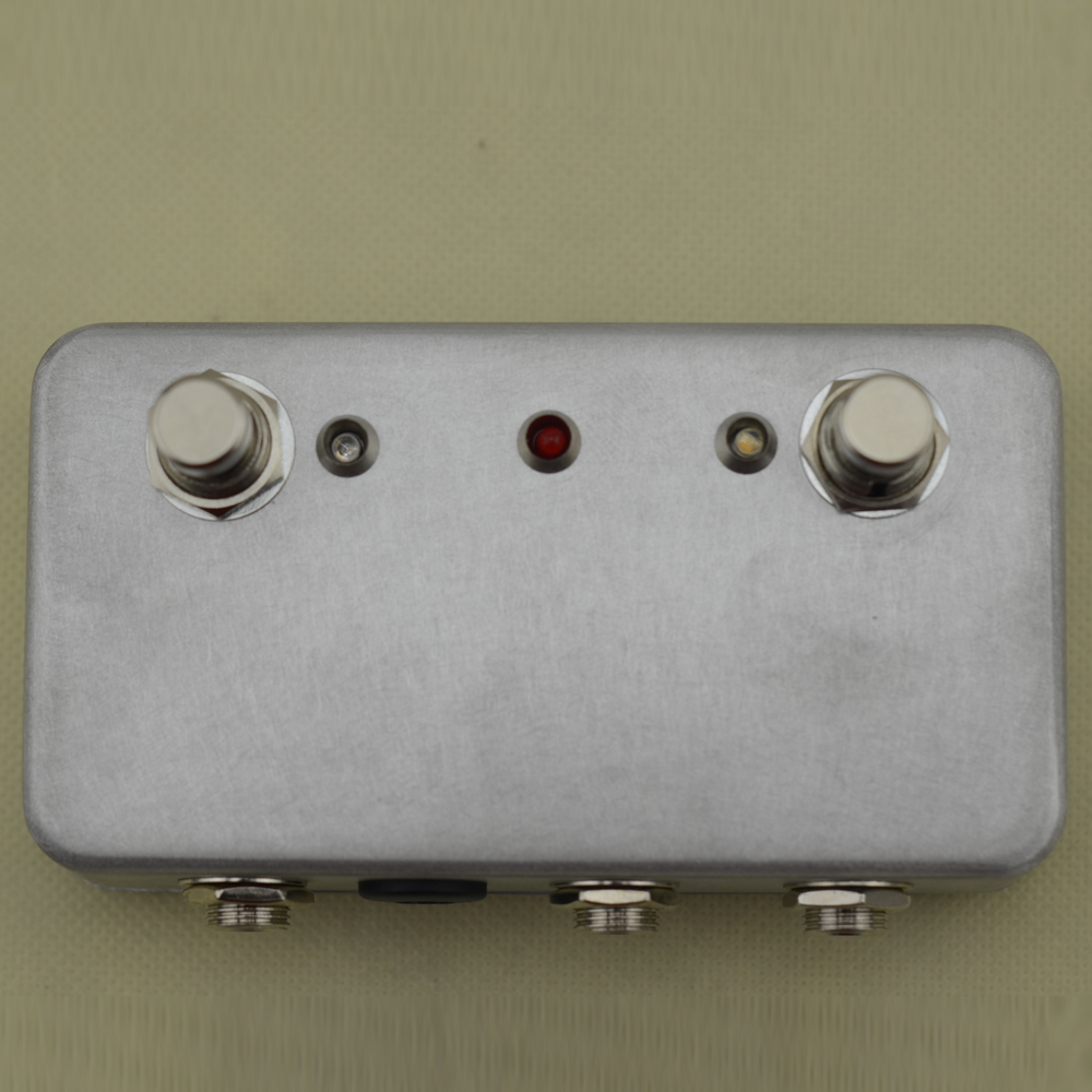 Hecho a mano ABY Switch Box TRUE BYPASS! Amp / guitarra AB envío - Instrumentos musicales - foto 5
