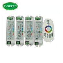 1 Х 2.4 Г сенсорный RGBW LED контроллер DC12-24V вход 1 ШТ. LED удалить контроллер + 4 ШТ. RGBW контроллер бесплатная доставка