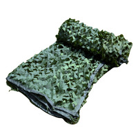 6.8M*6.8M Green Military Camouflage Netting Tourist Tent Hunting Photography Camouflage Netting Party Decorations Camouflage Net