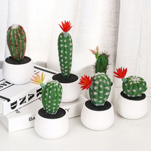 1 Pcs Simulation Of More Meat Plants Mini Cactus Garden Home Decoration European Style Artificial Succulents Micro-Landscape