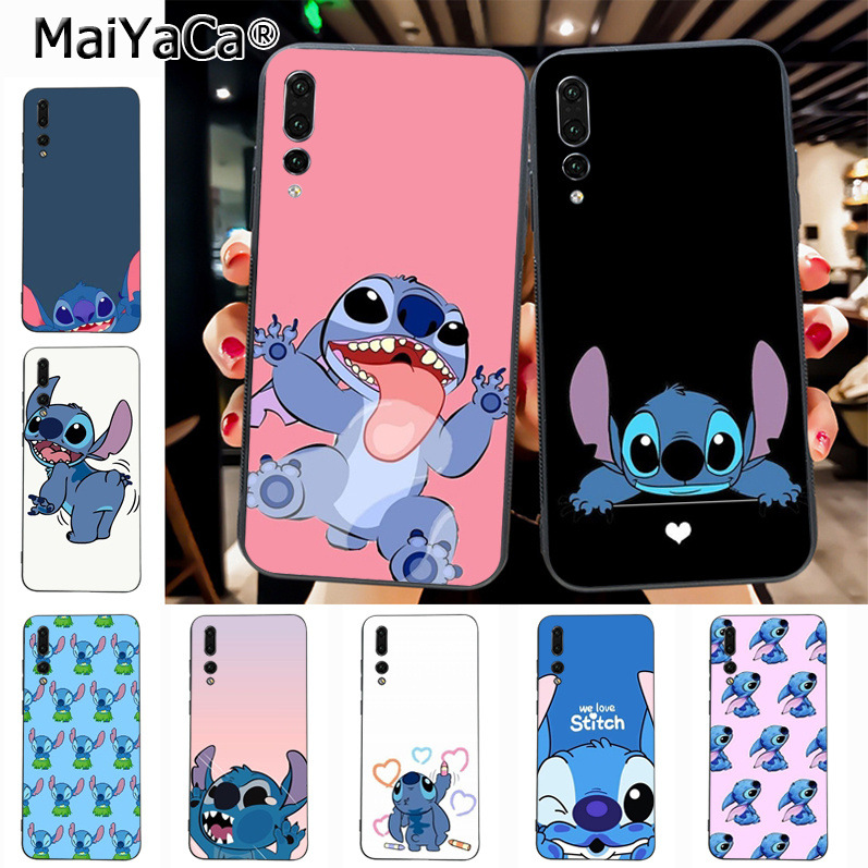 Maiyaca Stitch Pattern Style Luxury Accessories Shell Original Case for Huawei P20 P20 pro Mate10 P10 Plus Honor9 cass(China)