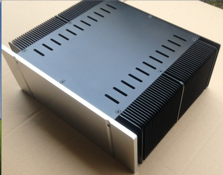 QUEENWAY 3209 CNC all aluminum heat dissipation 1969 Class a power amplifier Chassis 320*268*90mm 320mm*268mm*90mm
