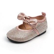 JGVIKOTO Spring Autumn Fashion Girls Shoes With Rhinestone K