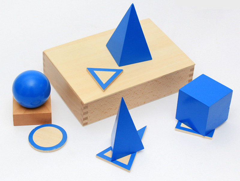 New Wooden Baby Toy Montessori Geometry stereo Educatioanal Gifts