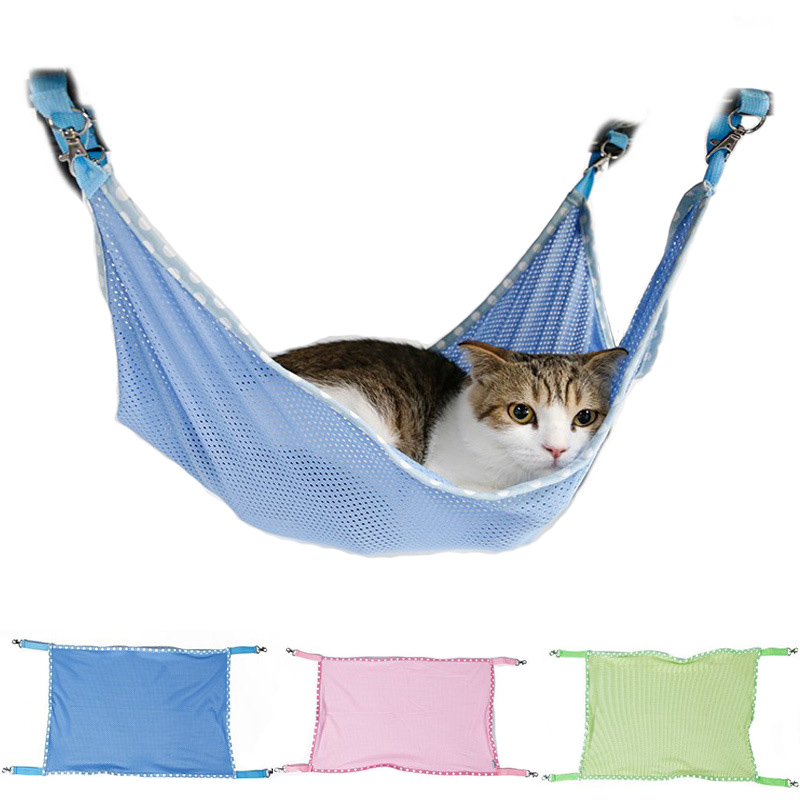 Cat Bed Mat Soft Cat Hammock Warm Hanging Winter Hammock Pet Kitten Cage Bed Cover Cushion Home Furnishing Ornament Up-To-Date Styling Figurines & Miniatures Home & Garden