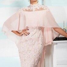 Розовые платья для мамы невесты, шифоновое кружевное короткое свадебное платье с бисером и кристаллами, платья для мам на свадьбу