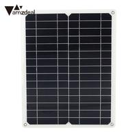 Solar Panel 12V 15W Energy Saving Solar Charging Solar Charger Pane Monocrystalline Silicon Fast Charger Solar Cell Durable
