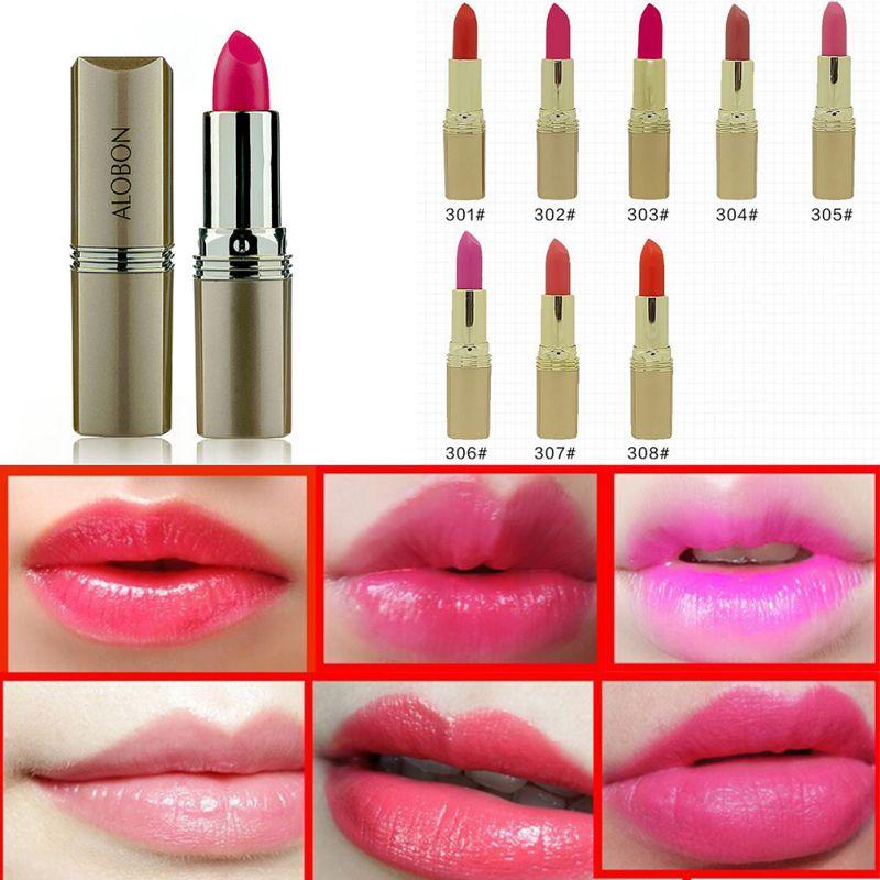 2017 Hot Women Sleek Glossy Lip Rouge Waterproof Lip Gloss 8 Color Beauty Makeup Lip Gloss