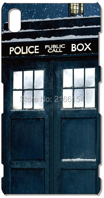 Doctor Who Tardis phone case For Sony Xperia Z1 Z2 Z3 Z4 Z5 For Huawei Honor 6 7 Ascend P6 P7 Mini P8 P9 Lite Mate 7 8 Cover