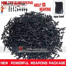 DIY Military Series Swat Police Gun Weapons Pack Army Brick Arms For City Police Best Children Gift Toys(China)