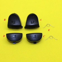 YX-028 L1 R1+L2 R2 w/Spring Trigger Buttons Controller Gamepad Repair Parts For PlayStation DualShock 4 PS4 Joypad Replacement