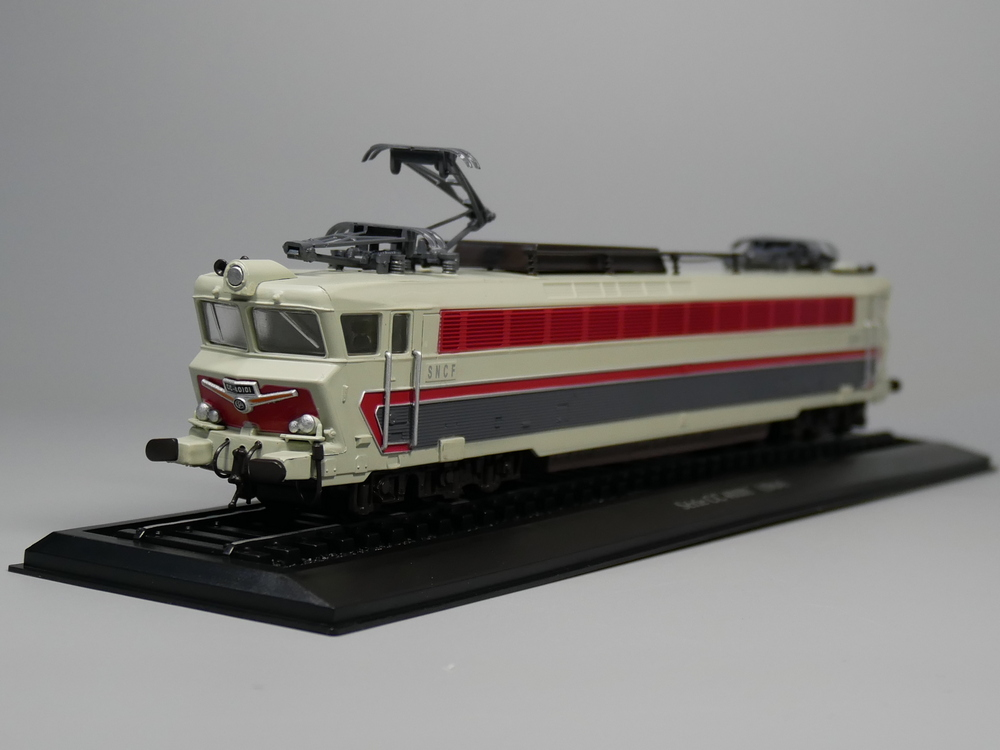Ho scale model Atlas 1:87 Train Serie CC 40101 1964 Diecast model Train