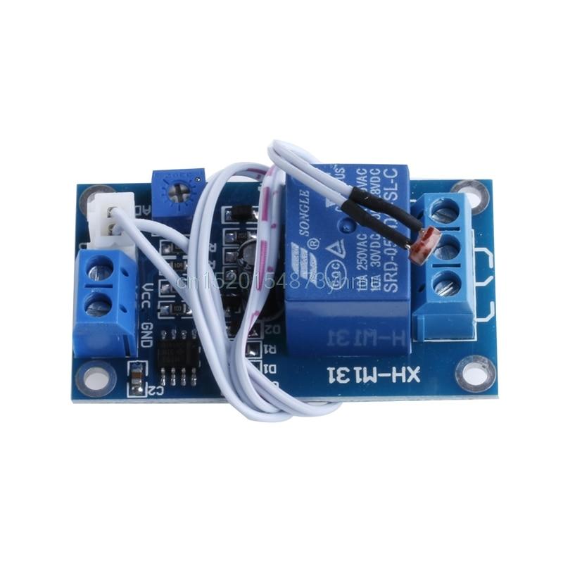 Подробнее о DC 5V Photoresistor Module Relay Light Detection Sensor Light Control Switch #L057# new hot dc relay module control board 12v switch load voltage protective detection test y103