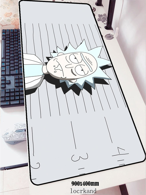 Rick And Morty mouse pad 90x40cm pad mouse Customized notbook computer mousepad xl gaming padmouse gamer laptop mouse mats