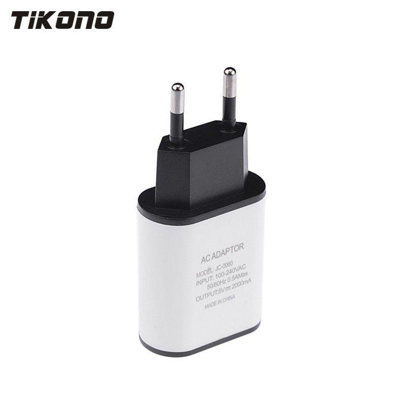 Բարձրորակ 5V 2A EU խրոցը USB արագ - Բջջային հեռախոսի պարագաներ և պահեստամասեր - Լուսանկար 5