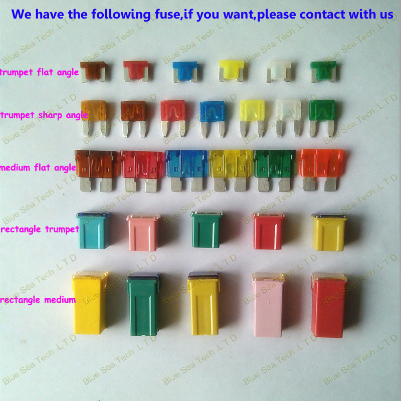 5 models 5pcs 20a to 60a original rectangle small type auto fuse rh aliexpress com auto fuses flf auto fuses for sale