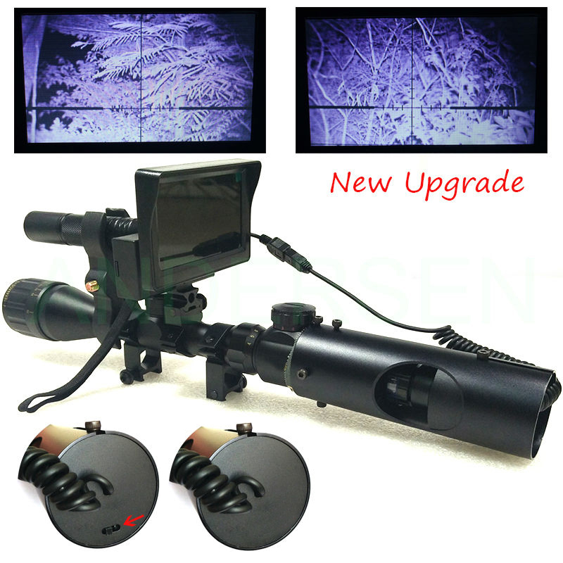 Outdoor Hunting optics Scope Mounts Accessories Tactical digital Infrared binoculars night vision use in Night For Riflescope
