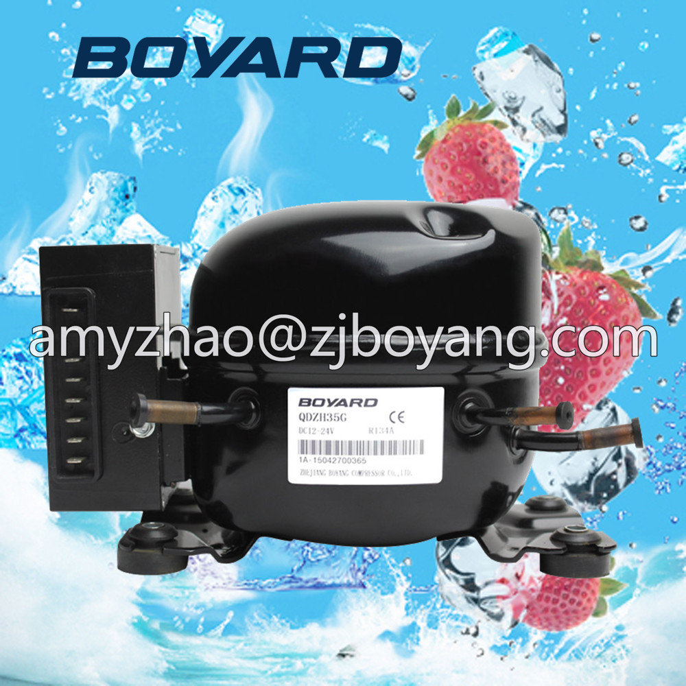 цены 5 pcs QDZH35G r134a 12v cooling compressor for marine refrigeration unit