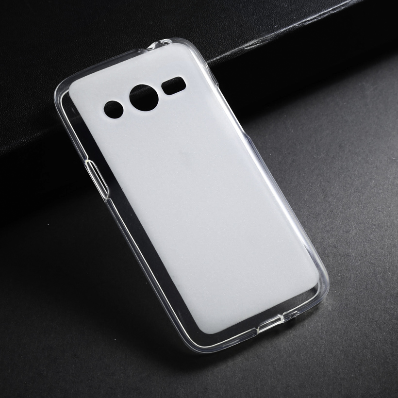Soft Case For Samsung Galaxy Ace 4 LTE G357FZ TPU Case Back Cover For Samsung Galaxy Core LTE 4G SM-G386F Phone Case White Shell