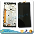 Original LCD For Lenovo P70 LCD Display Touch Screen Digitizer Assembly With Frame Replacement Parts