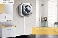 Ev Aletleri'ten Çamaşır Makinesi Parçaları'de DAEWOO XQG30 881E 2.5 kg küçük duvar tipi otomatik frekans davul giysi çamaşır makinesi mini yıkama makinesi duvara monte