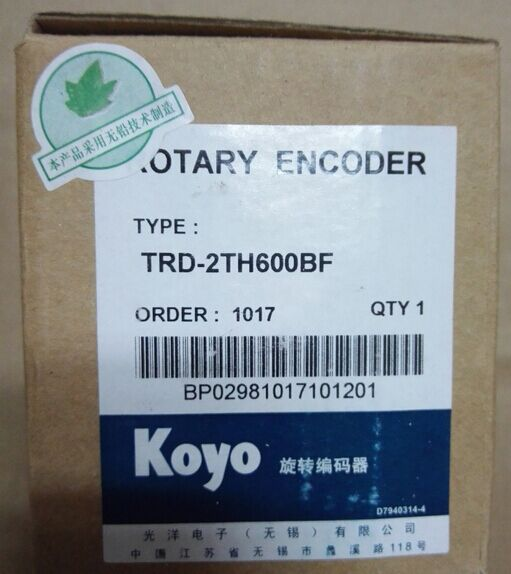 Freeship Koyo encoder TRD-2TH600BF hollow shaft incremental rotary encoder high performance 1 year warranty koyo encoder corp solid shaft rotary encoder trd 2t100af