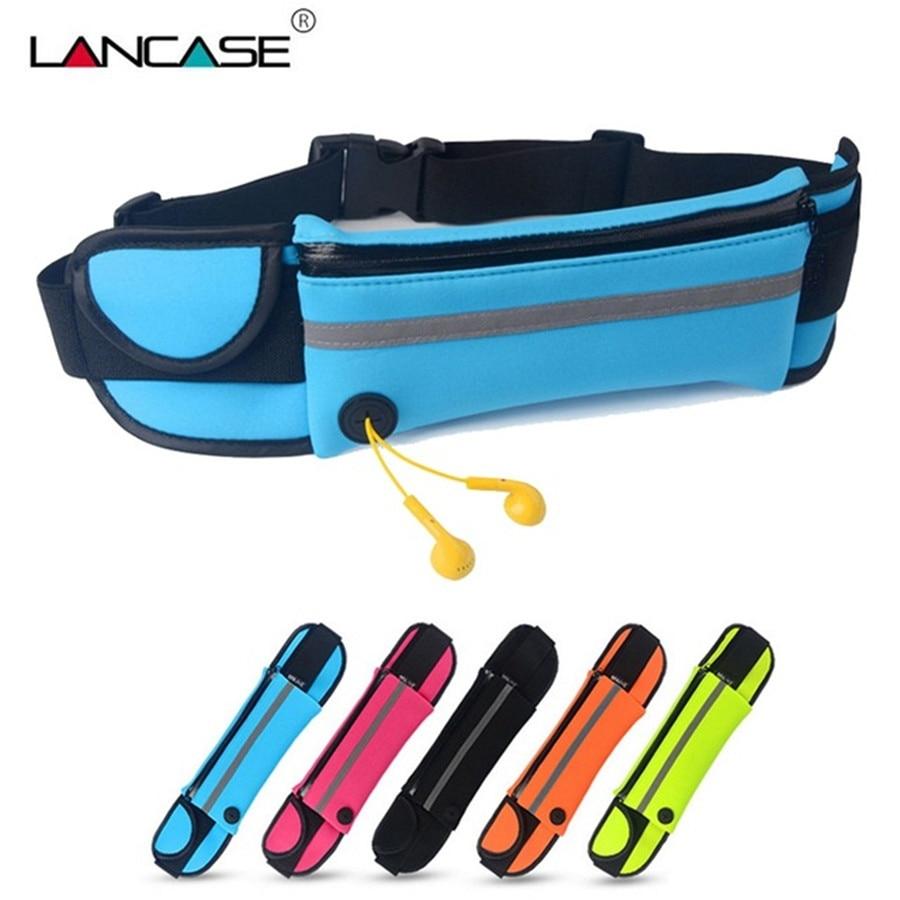LANCASE Sports Mobile Phone Case For Redmi Note 5 Pro Waist Bag Running Pouch For Xiaomi Redmi Note 5 Pro 4X 5 Plus A1 Belt Case