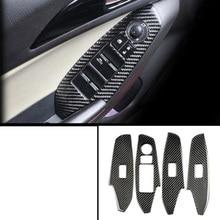 lsrtw2017 carbon fiber car window control panel trims for mazda3 2013 2014 2015 2016 2017 2018 lsrtw2017 car styling car window rainshield door visor for honda odyssey 2015 2016 2017 2018 window trims