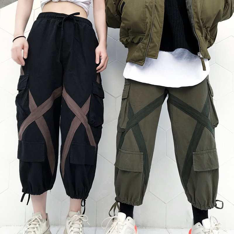 Hip Pantalons Femmes Survêtement army Pantalon De 2018 Hommes Mâle Green Hop Joggeurs Streetwear X Black fwgxZ4ZEq