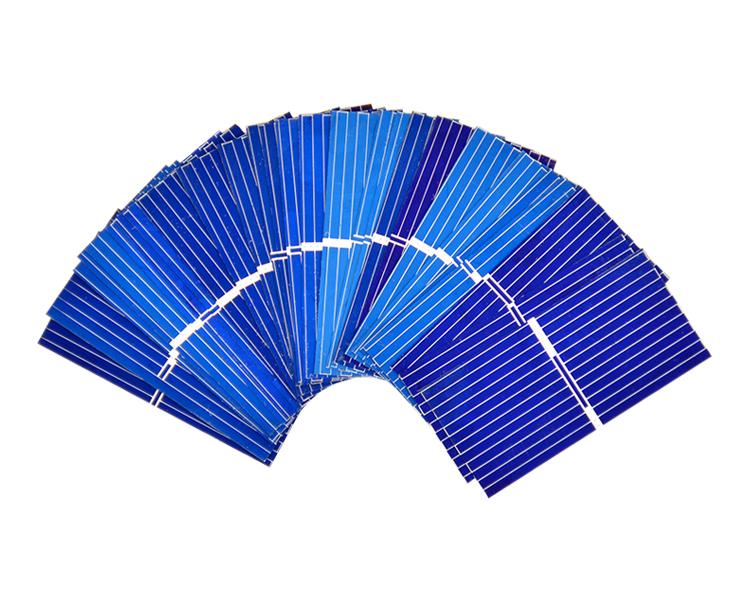 Aoshike 100pcs Mnin 39*19MM solar panel for DIY solar cell DIY cell phone charging 3