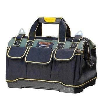 Sac à outils électricien outils de menuiserie réparation de matériel Portable rangement organisateurs boîte travail clé boîte à outils kit grande boîte à outils