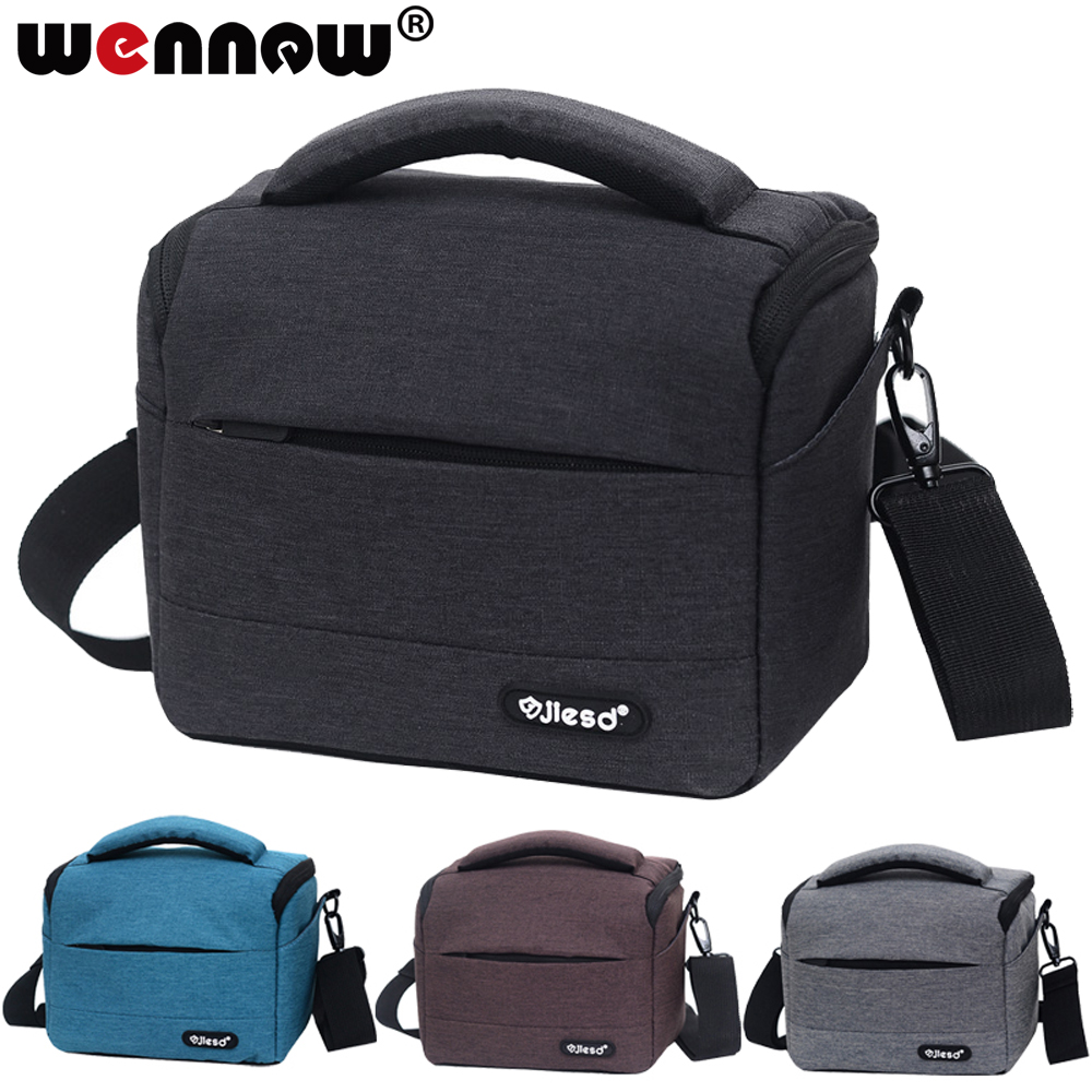 wennew Waterproof DSLR Camera Bag for Nikon Canon SONY Panasonic Olympus FUJIFILM Photography Photo Case Lens Backpack DSLR Bag image