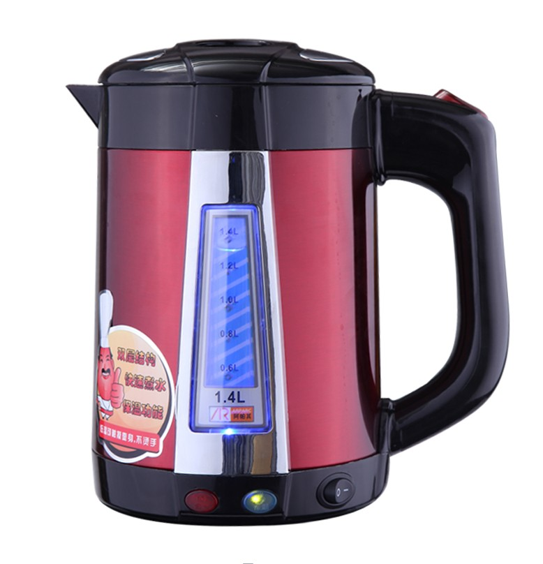 Stainless Steel Electric Water Kettle Interllegent Insulation Electric Water Boiler Quick-heating&no-limescale coating Kettle high quality electric kettle double wall insulation quick heating digital electric thermos water boiler home appliances for tea
