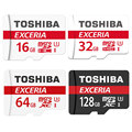 TOSHIBA Карта Micro Sd 16 ГБ/32 ГБ/64 ГБ/128 ГБ Памяти TF Trans Flash Card Мини U3 Макс ДО 90 МБ/с. SD Card Class10 SDHC SDXC TF Карты