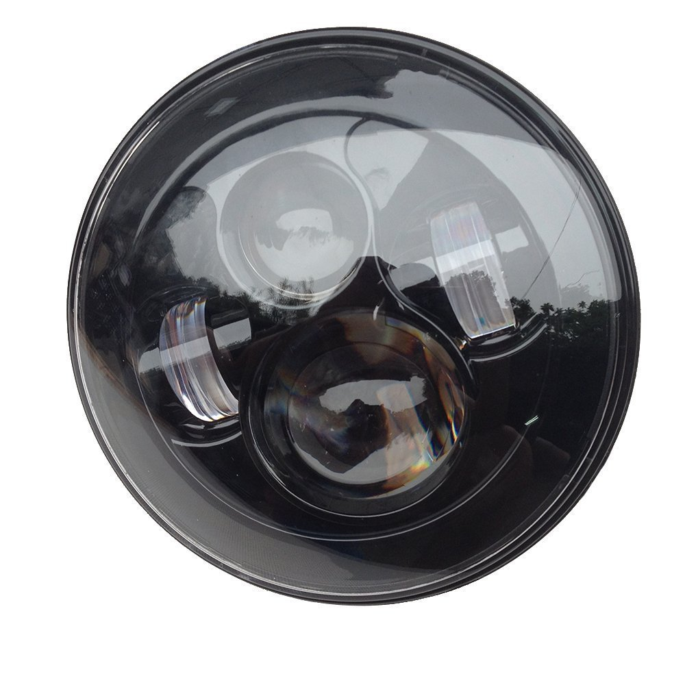 Harley Motorcycles Led Headlight 7 inch led car headlight with DOT high low beam led driving