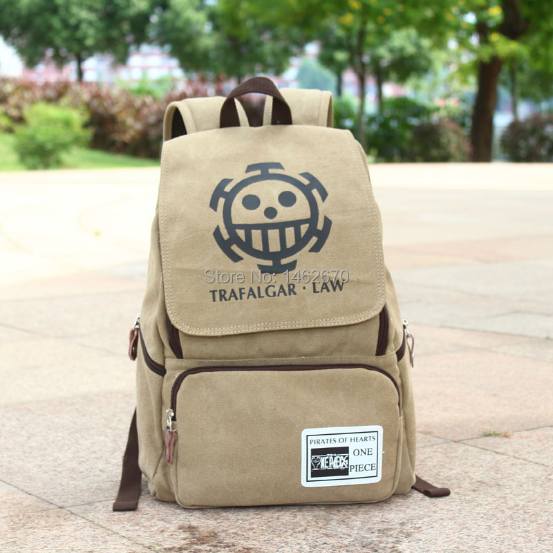 904542ac2be8 new arrival Law cosplay bags anime one piece school backpacks daily sports  backpacks 1 piece ACG184-in Backpacks from Luggage   Bags on Aliexpress.com  ...