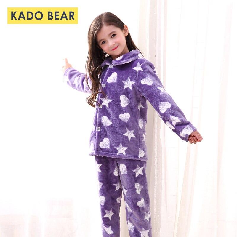 df8547a2ac36f Mère et Enfants Enfants Corail Polaire Pyjama Bébé Doux Chaud Nuit Enfant  En Bas Âge Garçon ...