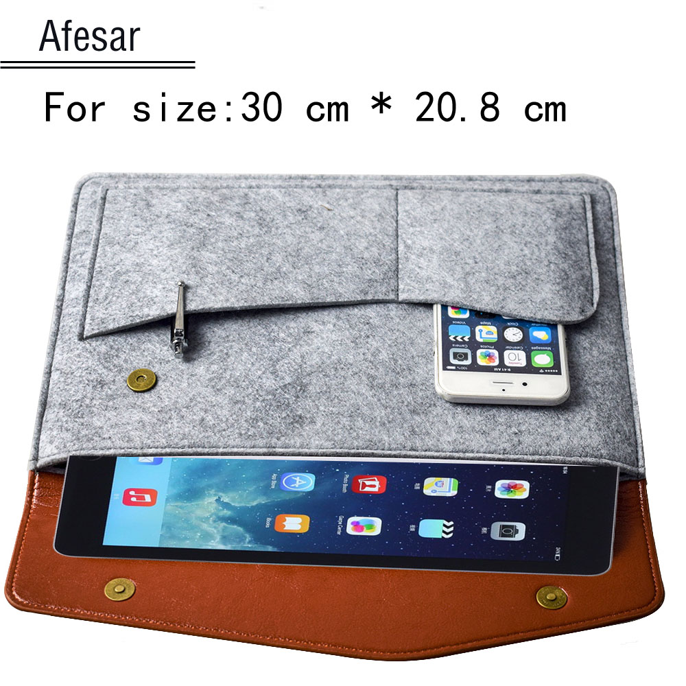 new product 0fa87 d2fdb universal case pouch sleeve felt for ipad samsung google asus lenovo amazon  huawei medion lifetab ...
