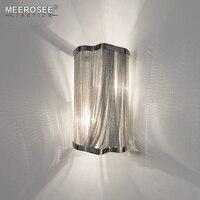 Атлантида цепь свет для настенного светильника алюминиевая цепь настенный кронштейн свет серебряный Настенный бра освещение прохода ламп