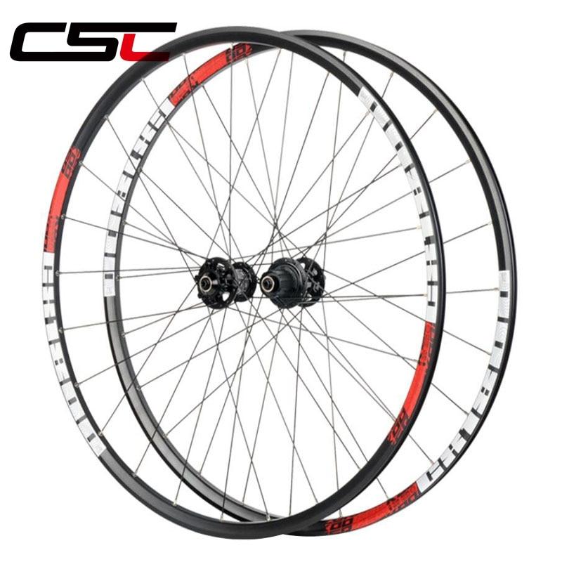 KOOZER 700C Clincher Cyclocross aluminum wheelset 6 Bolt Disc brake Road hub bicycle wheels 700x32 42C