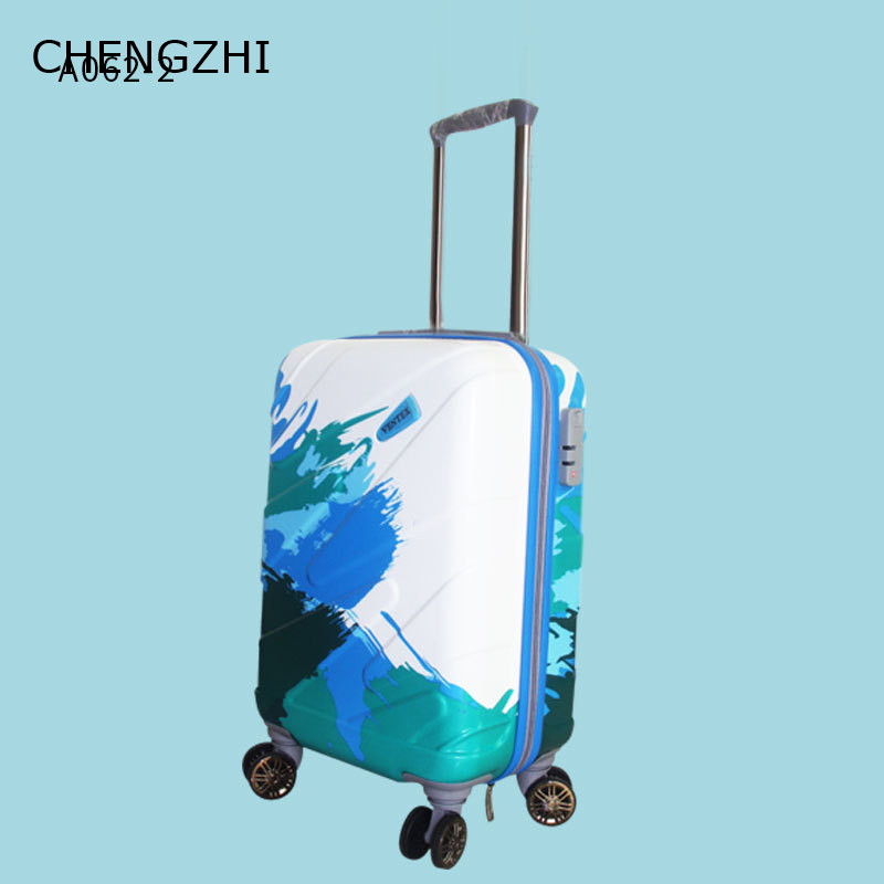 CHENGZHI 20 24 28inch waterdichte ABS + PC rolling bagage spinner trolley case reizen koffer op wielen - 4