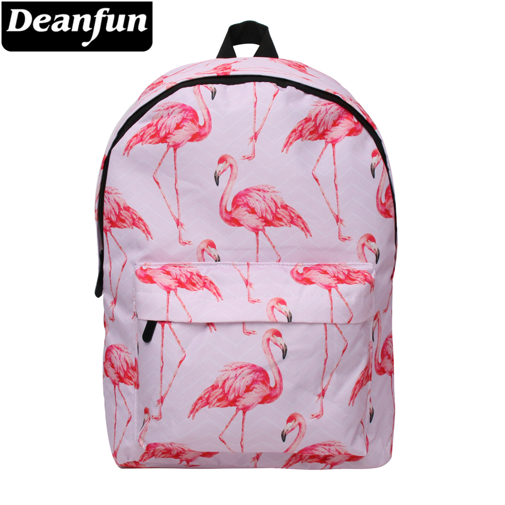 Considerate Deanfun Waterproof School Back Pack Women Flamingo Bookbag Cute Travel Bag For Teenage Girls Kawaii Knapsack 81026 Luggage & Bags