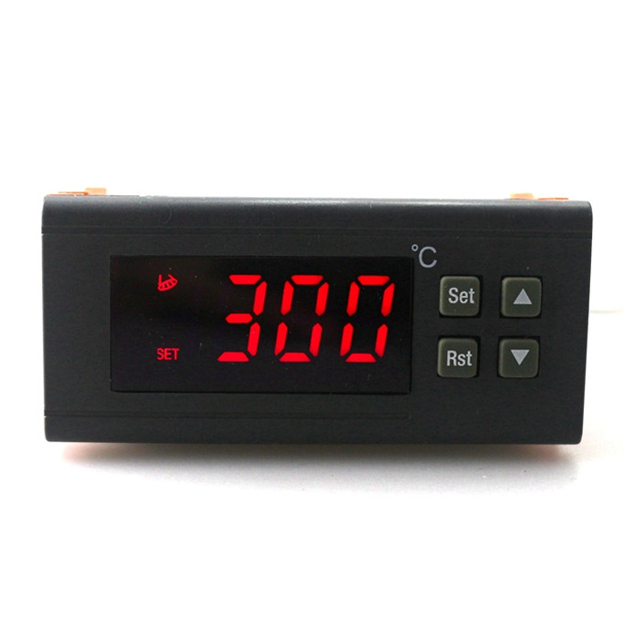 RC-114M 220V/10A -30~300 Degree Digital Temperature Controller Switch Thermostat Regulator with Temperature Sensor c 114m 220v 10a 30 300 degree digital temperature controller thermostat regulator with temperature sensor output