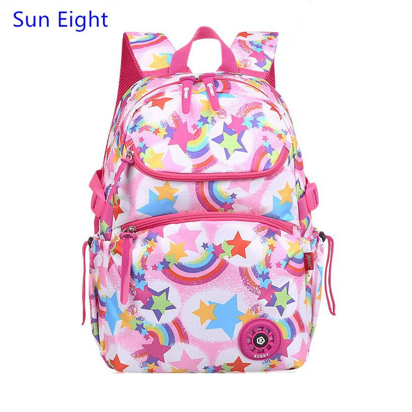sol oito amarelo bolsa sacolas Function 8 : Girl Schoolbag