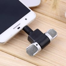 Portable Mini 3.5mm Wireless Microphone Stereo Mic For Recording Mobile Phone Studio Interview Microphone For Android Iphone(China)