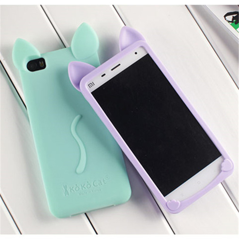 Luxury Soft Lovely Silicon Case for Xiaomi Mi5 Mi4C Mi4 Mi3